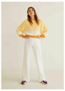 Ombré cotton sweater