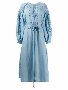 Vita Kin belted tunic dress - Blue