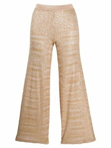Missoni cropped pull-on trousers - Neutrals