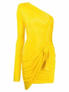 Alexandre Vauthier jersey day dress - Yellow