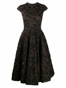 Rochas embellished evening dress - Brown