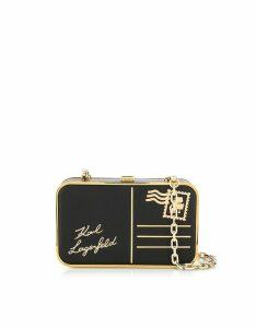 Karl Lagerfeld Designer Handbags, K/Postcard Minaudière Bag