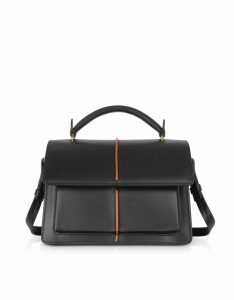 Marni Designer Handbags, Smooth Leather Top Handle Attaché Bag