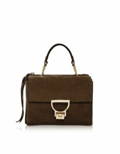 Coccinelle Designer Handbags, Arlettis Suede Top Handle Crossbody Bag