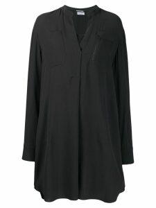 Brunello Cucinelli long-sleeve shirt dress - Grey