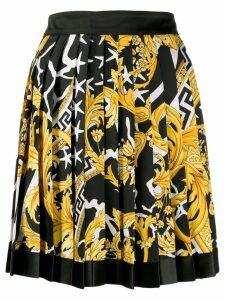 Versace Barocco print skirt - Black