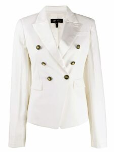 Escada double-breasted tailored blazer - White