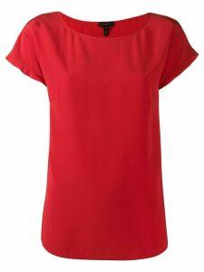 Escada shortsleeved blouse - Red