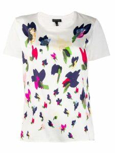Escada floral print T-shirt - White