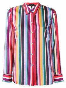 Escada striped pattern shirt - Red