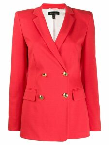 Escada classic double-breasted blazer - Red
