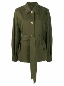 Escada tie-waist jacket - Green