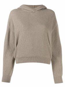 Nanushka long sleeved hoodie - Neutrals