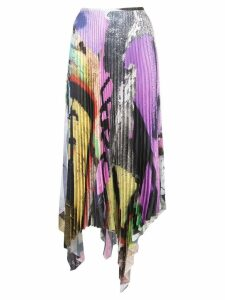 Marques'Almeida Graffiti skirt - Multicolour