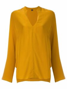 Osklen silk blouse - Yellow