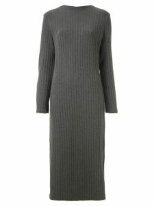 Osklen knitted midi dress - Grey
