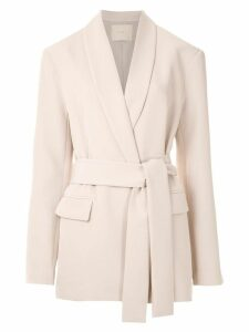 Framed High Tailoring blazer - Neutrals