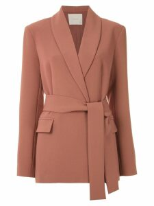 Framed High Tailoring blazer - Brown