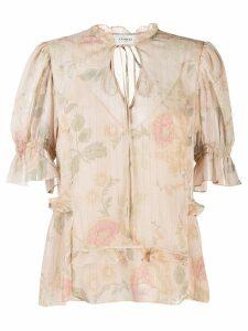 Coach floral print blouse - Neutrals