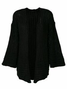 Osklen knitted kimono - Black