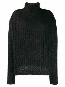 Marni ribbed jumper - Black