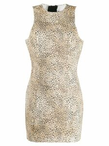 Alexander Wang cheetah print dress - Brown