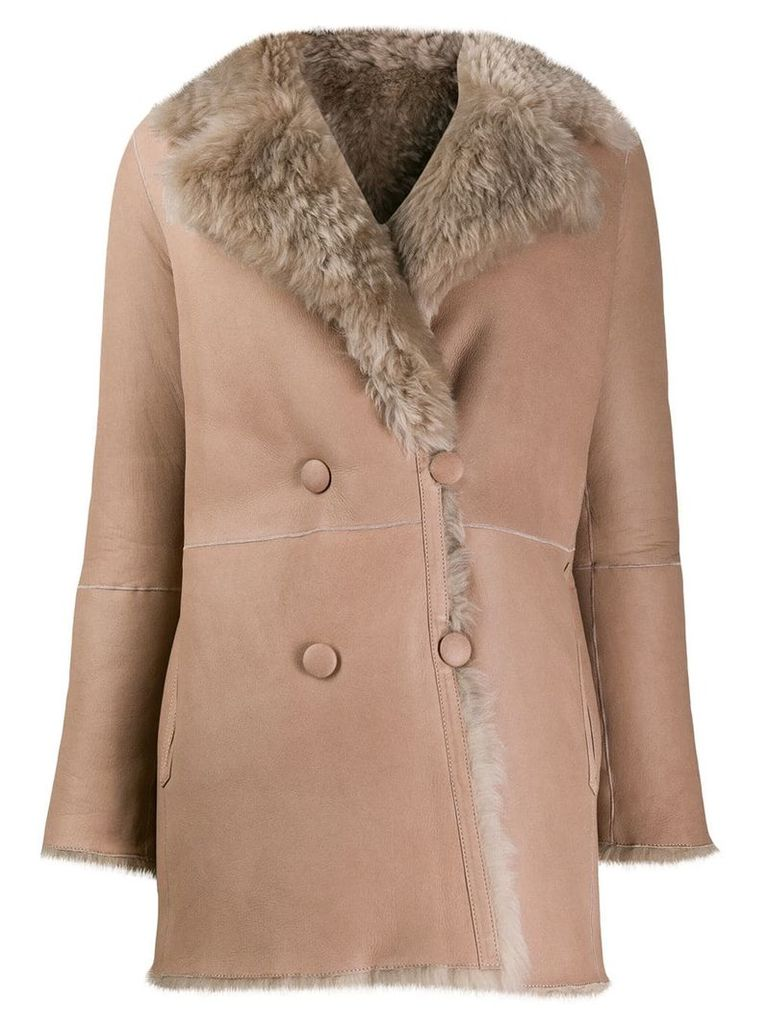 Liska Mila reversible coat - Neutrals