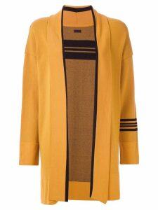 Osklen kimono with stripe detail - Yellow