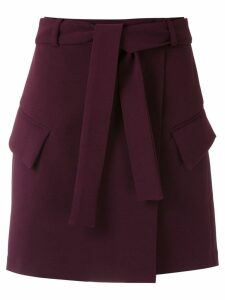Framed High Tailoring skirt - Purple