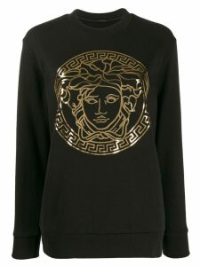Versace Medusa head sweatshirt - Black