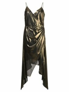Haney Alaina asymmetric dress - Gold