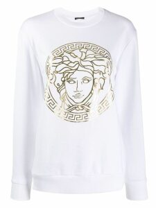 Versace Medusa head sweatshirt - White