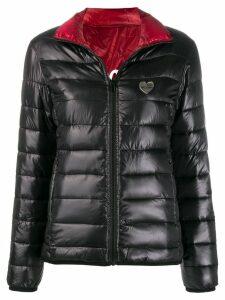 Love Moschino Giubbino reversible padded jacket - Black