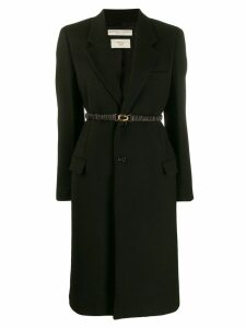 Bottega Veneta single-breasted coat - Black