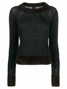 Pinko crew neck jumper - Black