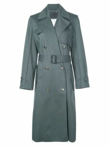 Givenchy double-breasted trench coat - Green