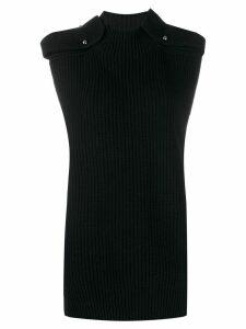 MRZ ribbed knit jumper - Black