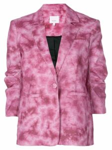 Cinq A Sept tie-dye Khloe blazer - Purple