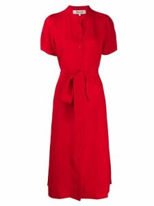 Diane von Furstenberg Addilyn shirt dress - Red