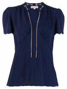 Michael Michael Kors v-neck blouse - Blue