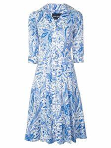 Samantha Sung Audrey paisley dress - Blue