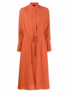 Joseph midi shirt dress - Orange