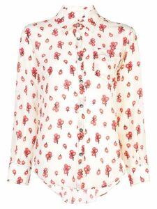 Marni floral print shirt - Neutrals