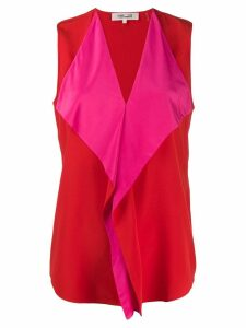 Diane von Furstenberg Isabel top - Red
