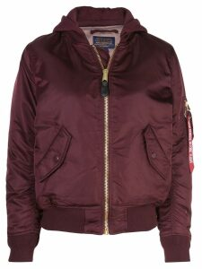 Alpha Industries bomber jacket - Red