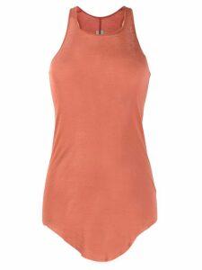 Rick Owens long-line tank top - Pink