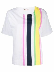 Marni striped T-shirt - White