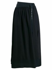 3.1 Phillip Lim Belted Skirt - Blue