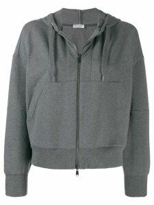 Brunello Cucinelli classic hoodie - Grey
