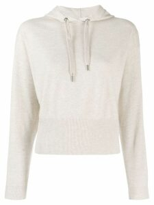 Brunello Cucinelli hooded jumper - Neutrals